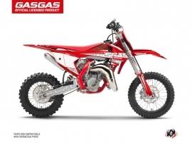 Kit Déco Moto Cross Flash GASGAS MC 65 Rouge