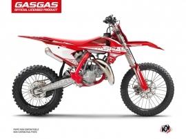 Kit Déco Moto Cross Flash GASGAS MC 85 Rouge