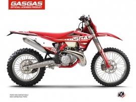 GASGAS EC Dirt Bike Flash Graphic Kit Black