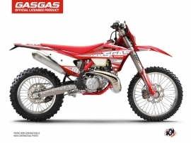 GASGAS ECF Dirt Bike Flash Graphic Kit Red