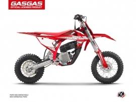 GASGAS MC-E 5 Dirt Bike Flash Graphic Kit Red