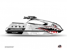 Yamaha Superjet 2021 Jet-Ski FLEET Graphic Kit White