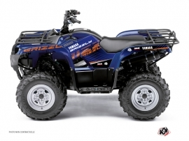 Yamaha 125 Grizzly ATV Flow Graphic Kit Orange