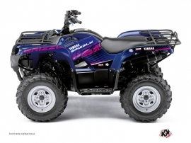 Yamaha 125 Grizzly ATV Flow Graphic Kit Pink