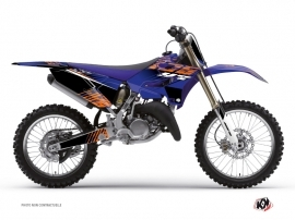 Yamaha 125 YZ Dirt Bike Flow Graphic Kit Orange