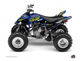 Yamaha 250 Raptor ATV Flow Graphic Kit Yellow