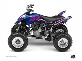 Yamaha 250 Raptor ATV Flow Graphic Kit Pink