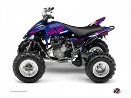 Yamaha 250 Raptor ATV Flow Graphic Kit Pink