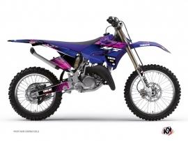 Yamaha 250 YZ Dirt Bike Flow Graphic Kit Pink