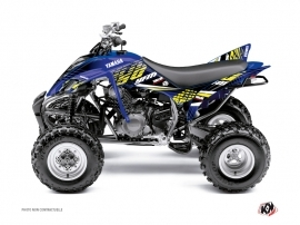 Yamaha 350 Raptor ATV Flow Graphic Kit Yellow