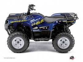 Yamaha 450 Grizzly ATV Flow Graphic Kit Yellow