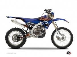 Yamaha 450 WRF Dirt Bike Flow Graphic Kit Orange