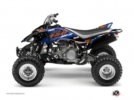 Yamaha 450 YFZ ATV Flow Graphic Kit Orange