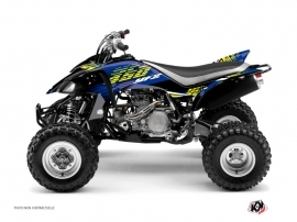 Yamaha 450 YFZ ATV Flow Graphic Kit Yellow