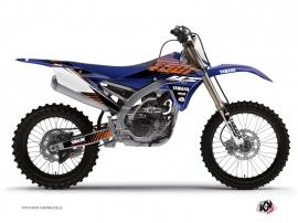 Yamaha 450 YZF Dirt Bike Flow Graphic Kit Orange