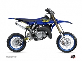 Kit Déco Moto Cross Flow Yamaha 65 YZ Jaune