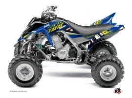 Yamaha 700 Raptor ATV Flow Graphic Kit Yellow