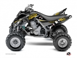 Yamaha 700 Raptor ATV Flow Graphic Kit Yellow 60th Anniversary