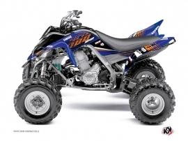 Yamaha 700 Raptor ATV Flow Graphic Kit Orange