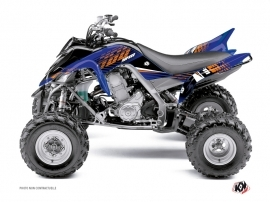 Yamaha 700 Raptor ATV Flow Graphic Kit Orange