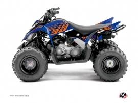 Yamaha 90 Raptor ATV Flow Graphic Kit Orange