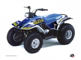 Yamaha Breeze ATV Flow Graphic Kit Yellow