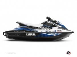 Yamaha EX Jet-Ski Flow Graphic Kit White Blue