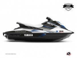 Yamaha EX Jet-Ski Flow Graphic Kit White Blue LIGHT