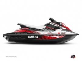 Yamaha EX Jet-Ski Flow Graphic Kit White Red