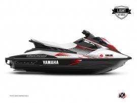Yamaha EX Jet-Ski Flow Graphic Kit White Red LIGHT