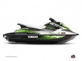 Yamaha EX Jet-Ski Flow Graphic Kit White Green
