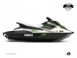 Yamaha EX Jet-Ski Flow Graphic Kit White Green LIGHT