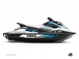 Yamaha EX Jet-Ski Flow Graphic Kit Blue