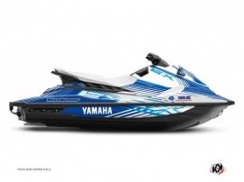 Yamaha EX Jet-Ski Flow Graphic Kit Blue White