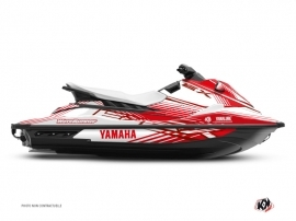 Yamaha EX Jet-Ski Flow Graphic Kit Red
