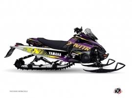 Kit Déco Motoneige Flow Yamaha FX Nitro Violet