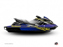Yamaha FX Jet-Ski Flow Graphic Kit Yellow