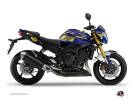 Yamaha FZ 8 Street Bike Flow Graphic Kit Yellow