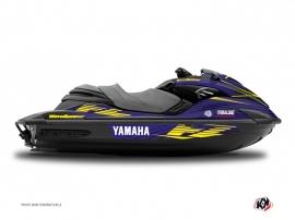 Yamaha FZR-FZS Jet-Ski Flow Graphic Kit Yellow