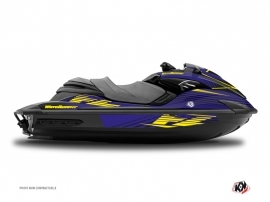 Yamaha FZR-FZS Jet-Ski Flow Graphic Kit Yellow