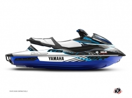 Yamaha GP 1800 Jet-Ski Flow Graphic Kit Blue