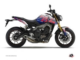 Yamaha MT 09 Street Bike Flow Graphic Kit Red