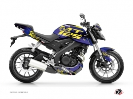Yamaha MT 125 Street Bike Flow Graphic Kit Yellow