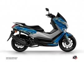 Kit Déco Maxiscooter Flow Yamaha NMAX 125 Bleu