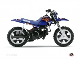 Yamaha PW 50 Dirt Bike Flow Graphic Kit Orange