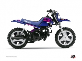 Yamaha PW 50 Dirt Bike Flow Graphic Kit Pink