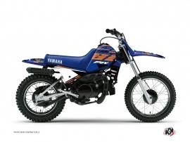 Yamaha PW 80 Dirt Bike Flow Graphic Kit Orange
