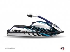 Yamaha Superjet Jet-Ski Flow Graphic Kit Blue
