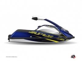 Yamaha Superjet Jet-Ski Flow Graphic Kit Yellow