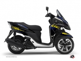 Yamaha TRICITY Maxiscooter Flow Graphic Kit Yellow